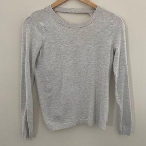 Fabletics Femina Sweater X-Small Light Gray